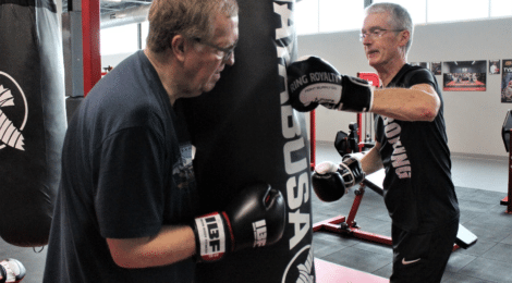 When Fighting Parkinson's Means Wearing Boxing Gloves